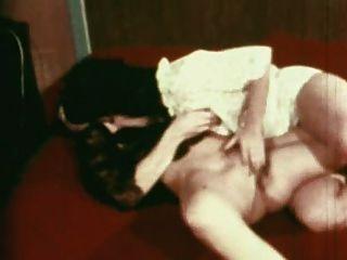 빈티지 골드 스페셜 에디션 소녀 1 장면 7 레즈비언 장면
