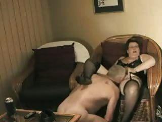 수제 할머니, 할아버지와 섹스 할 준비가되었습니다.