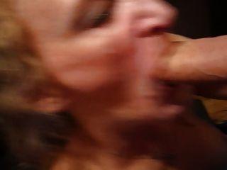 내 재미있는 아내가 수탉 전함 빨아