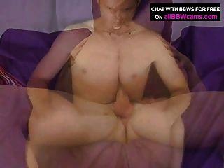 latina 놀라운 뚱뚱한 bbw의 가슴이 자이언트 거시기 2 부엉