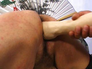 bbw 흔들고 주먹과 하드 항문 섹스