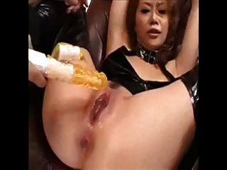 미친 듯이 아시아 소녀 squirts