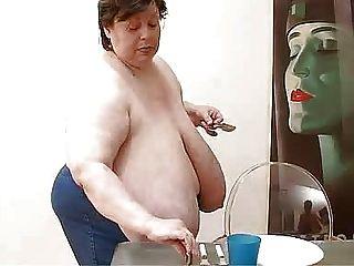 큰 뚱뚱한 독일어 가슴 ... bmw