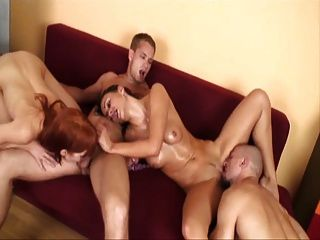 bisex swingers foursome 파트 2