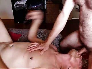 게이 아빠도 맨손으로 섹스하고 싶어!