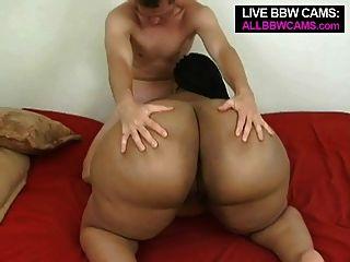 인터랙티브 bbw 섹스 거대한 짹 빌어 먹을 지방 엉덩이 파트 2