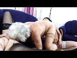 할머니 노마 레즈비언 사랑 삼인조 다시