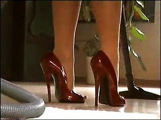 페티쉬 다리와 발 뒤꿈치