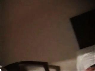 호색한 bbw 예전 호텔 방에서 자위하는 여자 친구