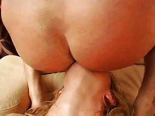켈리 웰스 더블 아날 다시 (매우 하드 비디오 !!!)