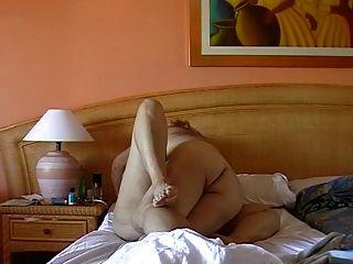 andalousia에 성관계를 갖는 성숙한 부부