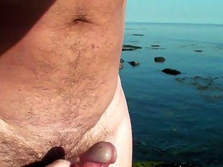 영국의 해변가가 다시 운이 좋다 ...