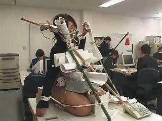 창피한 일본의 사무실
