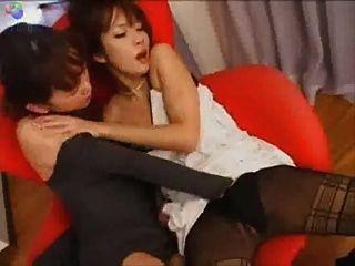 일본인 레즈비언 키스