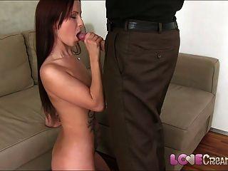 사랑 creampie 귀여운 젊은 아마추어 포르노 시작 캐스팅 않습니다