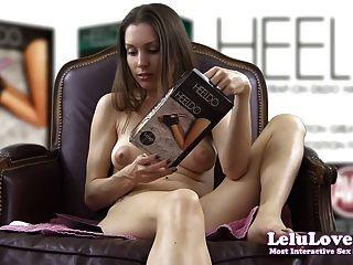 lelu love 테스트 heeldo foot dildo