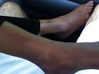 발 페티쉬 인도 발 (섹시한 발목, 발바닥 발가락)