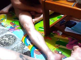 친구와 함께하는 새로운 한국 비디오 공유 아내