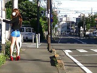 일본 CD 팬티 스타킹 공개 노출증 업 스커트 2