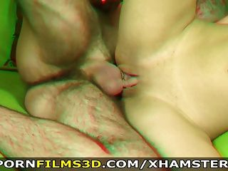 포르노 영화 3D 호색한 연인 야생