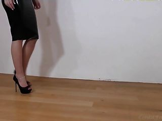 검은 라텍스, 발 뒤꿈치 부분 2
