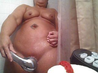 샤워의 수음