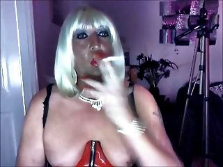 chrissie pvc에 멘톨 superking 흡연