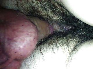 그녀의 털이 엉덩이 빌어 먹을