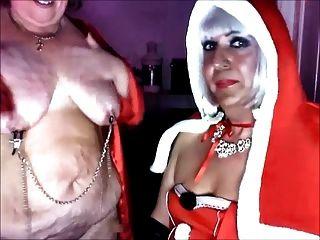 여주인 크리스마스와 그녀의 속바지 katrina pt 3