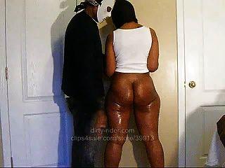 내 검은 엉덩이 팻 부츠