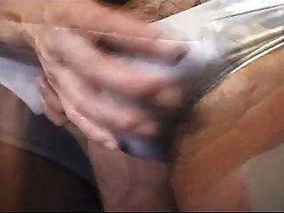 속옷에 게이 발기