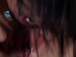 필리핀 소녀 모니카 로페즈 엉덩이에 좆