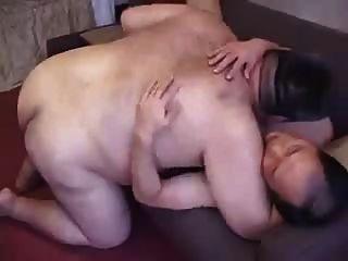 뚱뚱한 남자 커플 완벽한 1