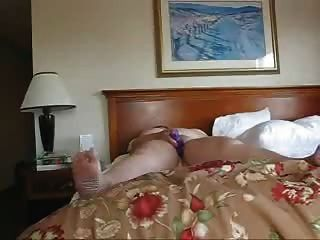 호텔에서 혼자 사업 여자