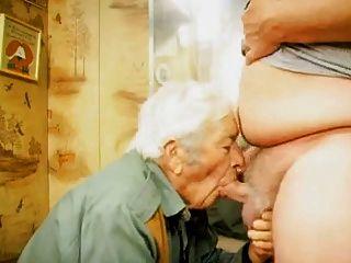 할아버지와 얼굴을 마주 치다.