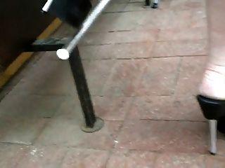 7 인치 플랫폼 하이힐 stilettos 끈 팬티