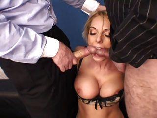 foursome의 영국의 매춘부