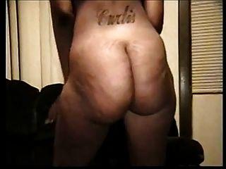 게토 전리품 뚱뚱한 검은 셀 룰 라이트 엉덩이 거품 엉덩이 twerk