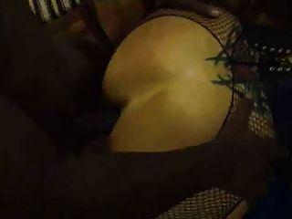 그녀의 엉덩이가 bbc에 의해 망할