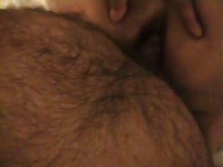 데스 아줌마가 엉덩이에 엿 먹어.