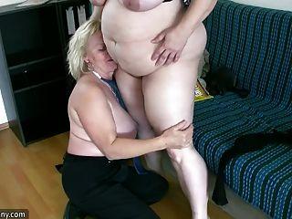oldnanny 섹시한 뚱뚱한 성숙한 및 bbw 할머니
