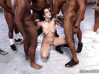 8 흑인에 의해 갱부에 슈퍼 걸레 katrina