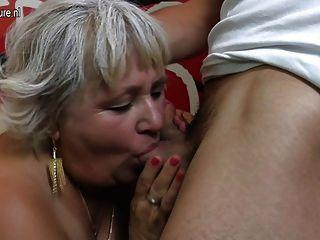 늙은 할머니, 어린 운이 좋은 소년