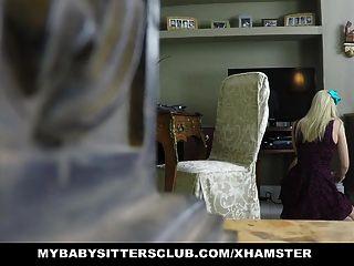 mybabysittersclub 베이비 시터 도둑이 잡히고 범해진다.