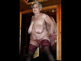 satyriasiss하여 매우 섹시한 엉덩이 추한 할머니