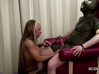 뜨거운 라틴계 십대 독일의 섹스 늙은이