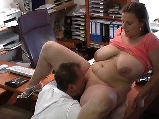 섹시한 독일 bbw 취업 면접에서 엿 먹어