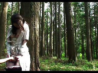 숲속에서 자란 성관계