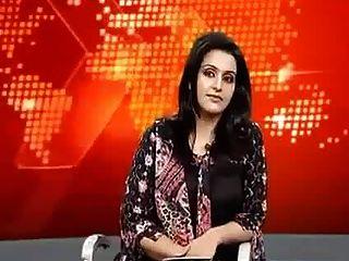 파키스탄 뉴스 캐스터 슬립