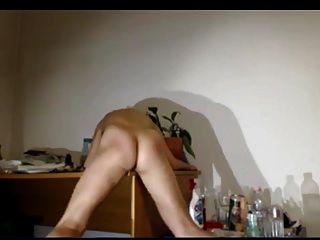 그녀의 책상 빌어 먹을.